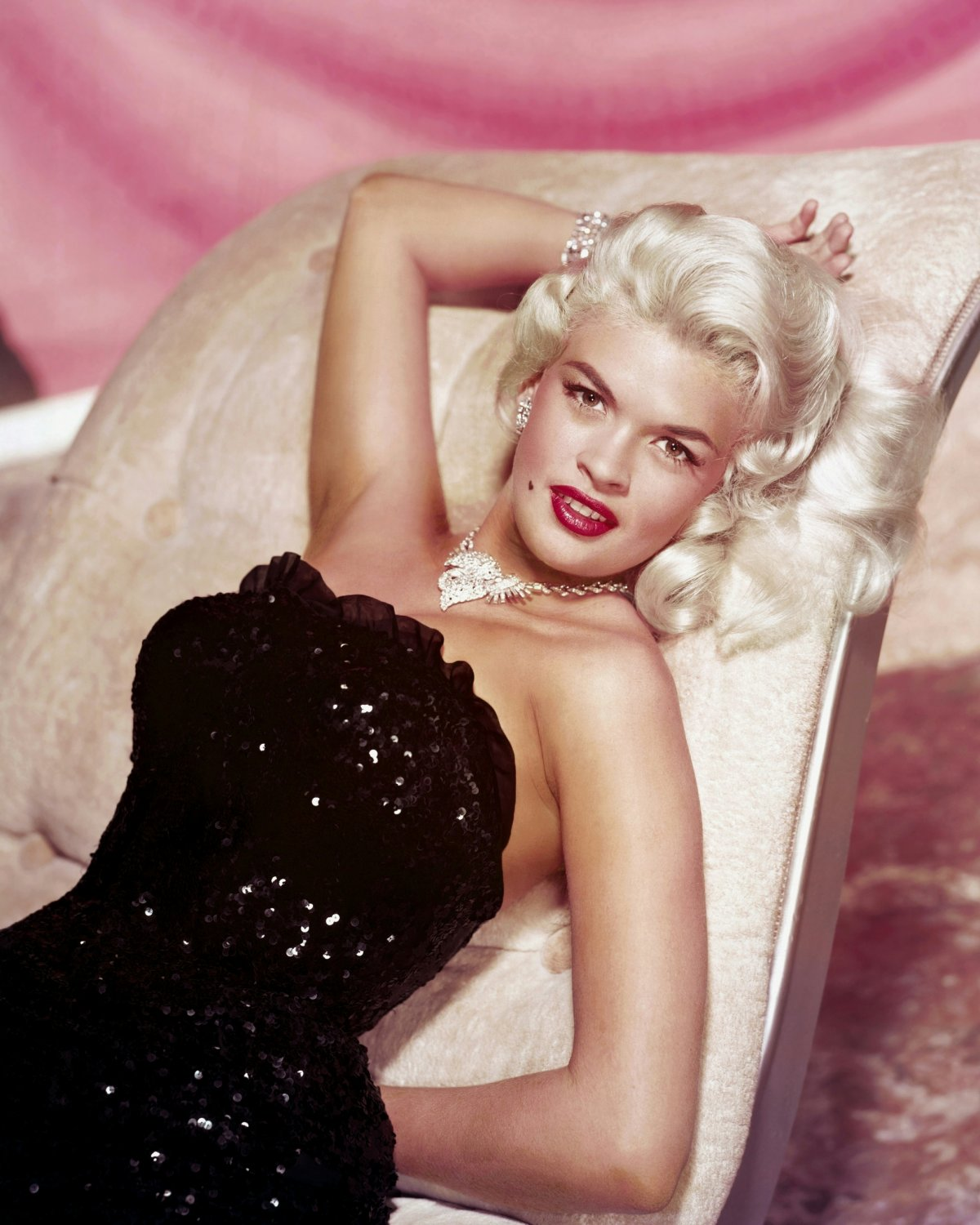 ACTRESS JAYNE MANSFIELD HOLLYWOOD SEX-SYMBOL - 8X10 PUBLICITY PHOTO (OP-001)