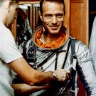 MERCURY ASTRONAUT SCOTT CARPENTER SUITING EXERCISE - 8X10 NASA PHOTO (AA-389)