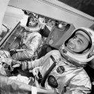 GEMINI 3 ASTRONAUTS JOHN YOUNG AND GUS GRISSOM - 8X10 NASA PHOTO (AA-415)