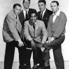 THE RAT PACK SINATRA, MARTIN, DAVIS, JR, LAWFORD, BISHOP - 8X10 PHOTO (AA-962)