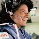 SALLY RIDE 1ST US FEMALE ASTRONAUT STS-7 SHUTTLE CHALLENGER 8X10 PHOTO (AA-689)