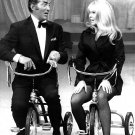 JOEY HEATHERTON ON 'THE DEAN MARTIN SHOW' TRICYCLE 8X10 PUBLICITY PHOTO (AA-896)
