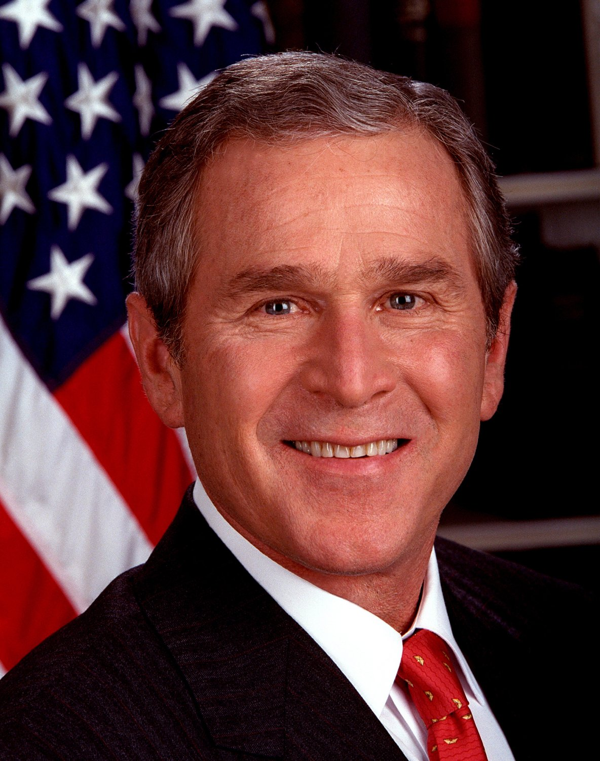PRESIDENT GEORGE W. BUSH OFFICIAL PORTRAIT - 8X10 PHOTO (EP-464)