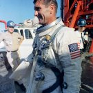 GEMINI 11 ASTRONAUT RICHARD GORDON AFTER LAUNCH SCRUB - 8X10 NASA PHOTO (AA-496)