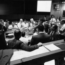 MISSION CONTROL IN FINAL HOURS OF THE APOLLO 13 MISSION - 8X10 PHOTO (AA-824)