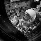 GEMINI 11 ASTRONAUTS PETE CONRAD & RICHARD GORDON PRE-LAUNCH 8X10 PHOTO (AA-604)