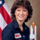 ASTRONAUT SALLY RIDE AMERICA'S FIRST WOMAN IN SPACE - 8X10 NASA PHOTO (AA-849)