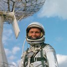 ASTRONAUT JOHN GLENN IN PRESSURE SUIT AT CAPE CANAVERAL 8X10 NASA PHOTO (AA-593)