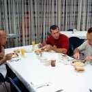 GEMINI 11 ASTRONAUTS PETE CONRAD DICK GORDON ALAN SHEPARD - 8X10 PHOTO (AA-597)