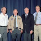 THEN SURVIVING X-15 PILOTS RECEIVE ASTRONAUT WINGS IN 2005 - 8X10 PHOTO (AA-692)