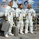 APOLLO 10 ASTRONAUTS GENE CERNAN, JOHN YOUNG & TOM STAFFORD 8X10 PHOTO (AA-903)