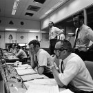 FLIGHT DIRECTOR GLYNN LUNNEY GERALD GRIFFIN DURING APOLLO 10 8X10 PHOTO (AA-906)