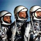 MERCURY ASTRONAUTS ALAN SHEPARD JOHN GLENN GUS GRISSOM 8X10 NASA PHOTO (BB-342)