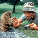 BILL MURRAY & HIS GOPHER FRIEND IN 'CADDYSHACK' - 8X10 PUBLICITY PHOTO (BB-754)