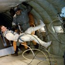 GEMINI 8 ASTRONAUT DAVE SCOTT DURING EVA TRAINING C-135 8X10 NASA PHOTO (BB-771)