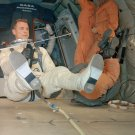 GEMINI 8 ASTRONAUT DAVE SCOTT DURING EVA TRAINING C-135 8X10 NASA PHOTO (BB-772)