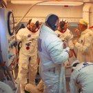 APOLLO 11 ASTRONAUTS EGRESS SPACECRAFT AFTER COUNTDOWN TEST 8X10 PHOTO (AA-734)