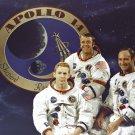 APOLLO 14 CREW PORTRAIT - ROOSA, SHEPARD, MITCHELL - 8X10 NASA PHOTO (EP-228)