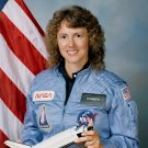 CHRISTA McAULIFFE STS-51-L PAYLOAD SPECIALIST TEACHER IN SPACE - 8X10 NASA PHOTO (ZZ-252)