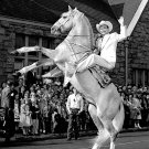 COWBOY SINGER & ACTOR ROY ROGERS AND HIS HORSE TRIGGER - 8X10 PHOTO (EP-013)