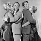 FRANK SINATRA, DEAN MARTIN, ANITA EKBERG  & URSULA ANDRESS IN '4 FOR TEXAS' - 8X10 PHOTO (AZ-030)