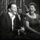 ELLA FITZGERALD ON 'THE FRANK SINATRA SHOW' - 8X10 PUBLICITY PHOTO (AZ-037)
