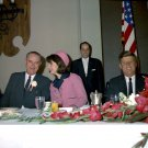 PRESIDENT JOHN F. KENNEDY ATTENDS FORT WORTH CHAMBER BREAKFAST ON 11/22/63 - 8X10 PHOTO (AZ-042)