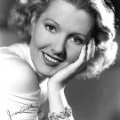 ACTRESS JEAN ARTHUR SIMULATED AUTOGRAPH - 8X10 PUBLICITY PHOTO (BB-885)