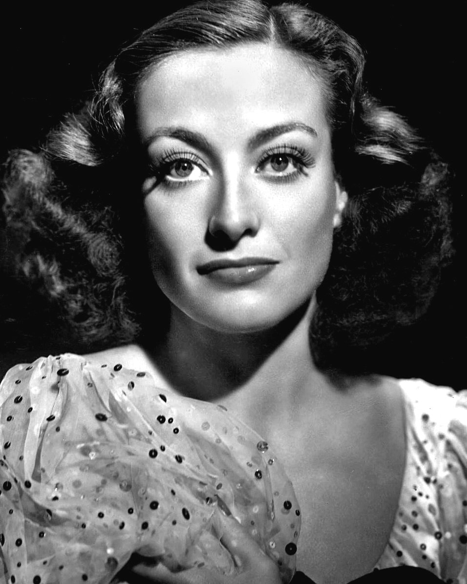 JOAN CRAWFORD LEGENDARY ACTRESS - 8X10 PUBLICITY PHOTO (BB-914)
