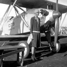 AMERICAN AVIATRIX PILOT AMELIA EARHART IN 1928 - 8X10 PHOTO (CC-056)