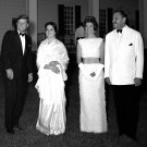 PRES JOHN F. KENNEDY & JACKIE HOST STATE DINNER MT. VERNON - 8X10 PHOTO (CC-063)