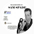 THE ADVENTURES OF SAM SPADE- 72 Shows Old Time Radio In MP3 Format OTR 1 CD