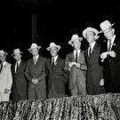 HOUSTON WELCOMES THE ORIGINAL SEVEN MERCURY ASTRONAUTS 8X10 NASA PHOTO (BB-959)
