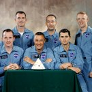 APOLLO 1 MISSION PRIME AND BACK-UP ASTRONAUT CREWS - 8X10 NASA PHOTO (BB-994)