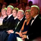 PRESIDENTS JIMMY CARTER & BILL CLINTON @ STATE DINNER RECEPTION IN 2011 (CC-103)