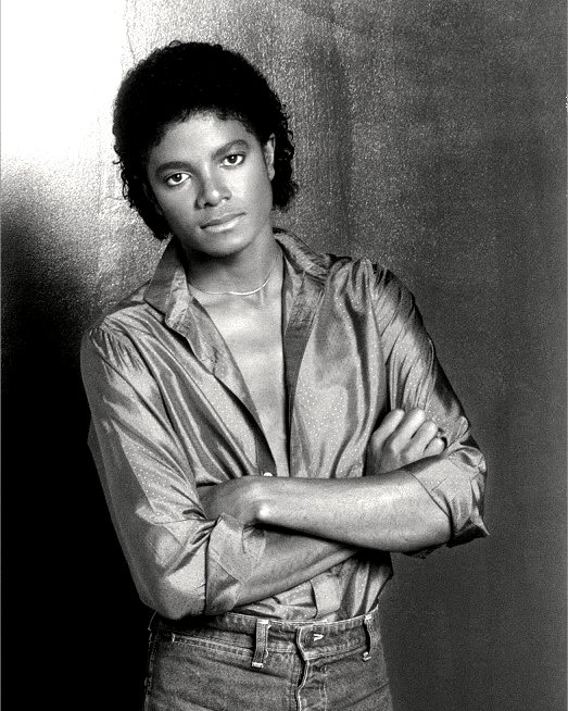 """MICHAEL JACKSON """"THE KING OF POP"""" - 8X10 PUBLICITY PHOTO (EE-104)"""