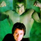 BILL BIXBY LOU FERRIGNO IN 'THE INCREDIBLE HULK' - 8X10 PUBLICITY PHOTO (EE-107)