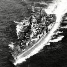 USS AUGUSTA NORTHAMPTON CLASS CRUISER - 8X10 PHOTO (ZZ-166)
