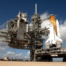 SPACE SHUTTLE ENDEAVOUR (STS-134) ON LAUNCH PAD 39A - 8X10 NASA PHOTO (ZZ-607)