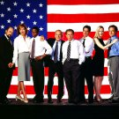 CAST OF 'THE WEST WING' NBC TELEVISION SERIES - 8X10 PUBLICITY PHOTO (DD-110)