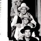 CAST OF THE TV WESTERN 'BONANZA' - 8X10 PUBLICITY PHOTO (DA-716)