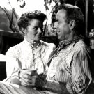 HUMPHREY BOGART KATHARINE HEPBURN 'THE AFRICAN QUEEN' - 8X10 PUBLICITY PHOTO (EE-077)