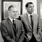 JACK WEBB & HARRY MORGAN IN NBC SHOW 'DRAGNET' - 8X10 PUBLICITY PHOTO (EE-090)