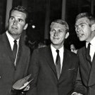 JAMES GARNER WITH STEVE McQUEEN AND JAMES COBURN - 8X10 PHOTO (ZZ-054)
