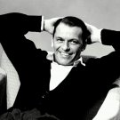 LEGENDARY ENTERTAINER FRANK SINATRA RELAXES IN A CHAIR - 8X10 PHOTO (AA-727)