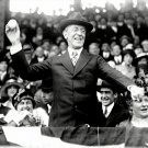 PRESIDENT WOODROW WILSON CEREMONIAL FIRST PITCH IN 1919 - 8X10 PHOTO (EP-702)