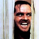 "JACK NICHOLSON IN ""THE SHINING"" ""HERE'S JOHNNY"" - 8X10 PUBLICITY PHOTO (AA-714)"