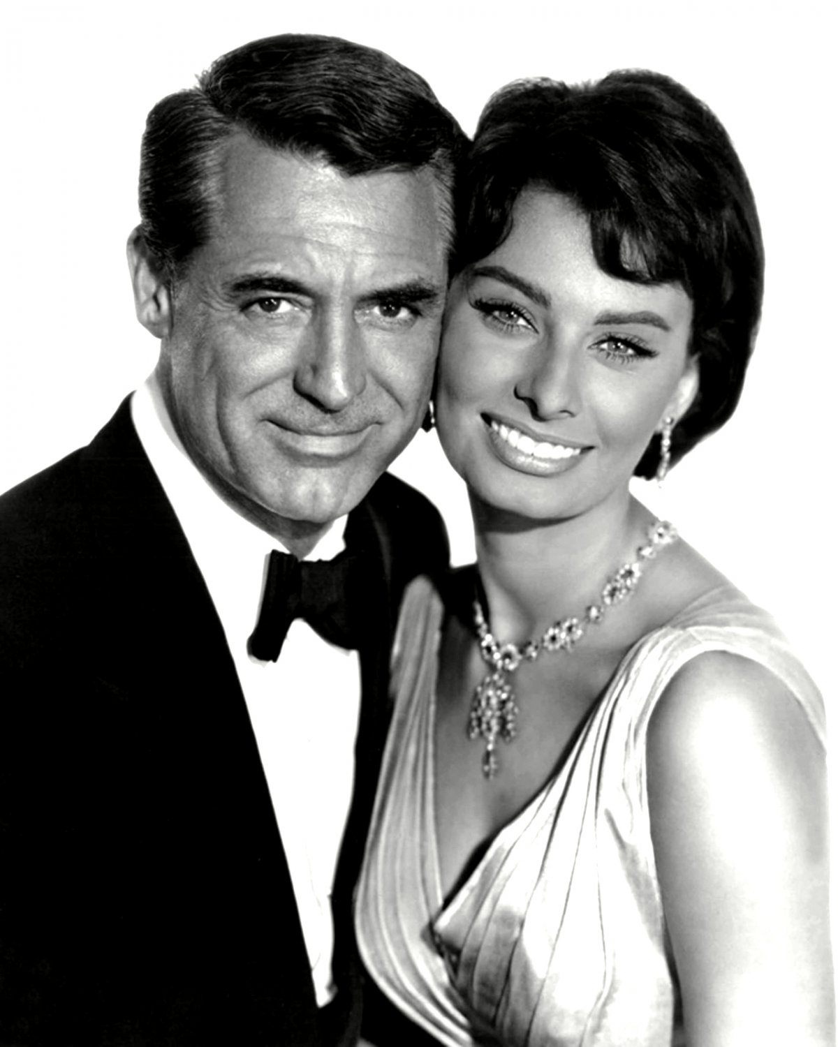 Cary grant sophia loren in the film 39 houseboat 39 8x10 for Cary grant first movie