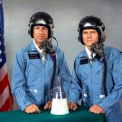 GEMINI 7 ASTRONAUTS JIM LOVELL AND FRANK BORMAN - 8X10 NASA PHOTO (EP-803)