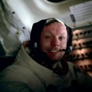 APOLLO 11 ASTRONAUT NEIL ARMSTRONG AFTER LUNAR EVA - 8X10 NASA PHOTO (EP-675)